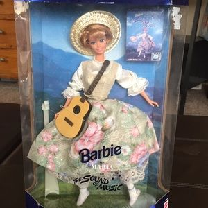 Vintage Sound of Music Barbie doll in box